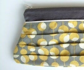 The Pucker Pouch From Waste Clothe of Torn Bed Sheet.