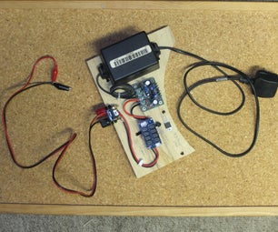 Low-cost Bare-bones Bench Power Supply