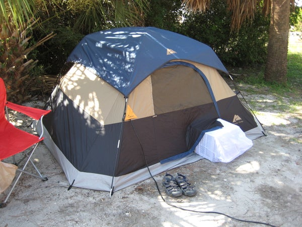 Ruggedizing and Bug-proofing a Window Air Conditioner for Tent Camping