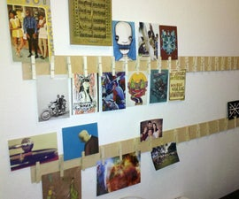 Clothespin Gallery