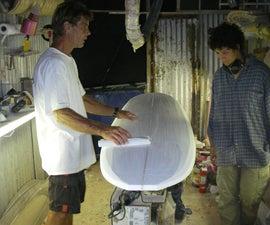 Build A Surfboard Episode 2: Sanding