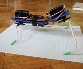 A Servo-based 4-legged Walker