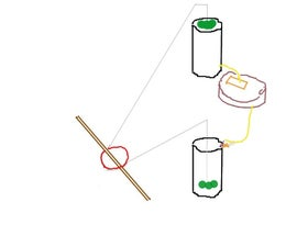 DIY  2 bucket dripper tracker for solar cookers and solar panels is cheap and it works!