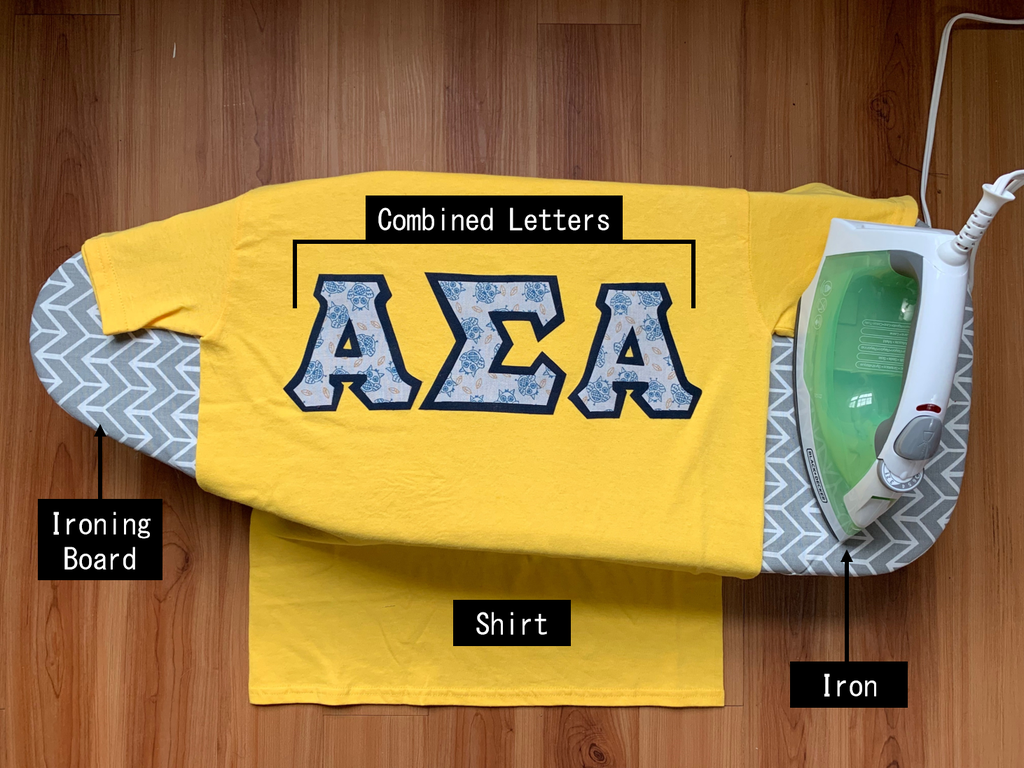 Greek Letter Shirts: 12 Steps (with Pictures)