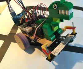 Maze Solver Robot, using Artificial Intelligence with Arduino
