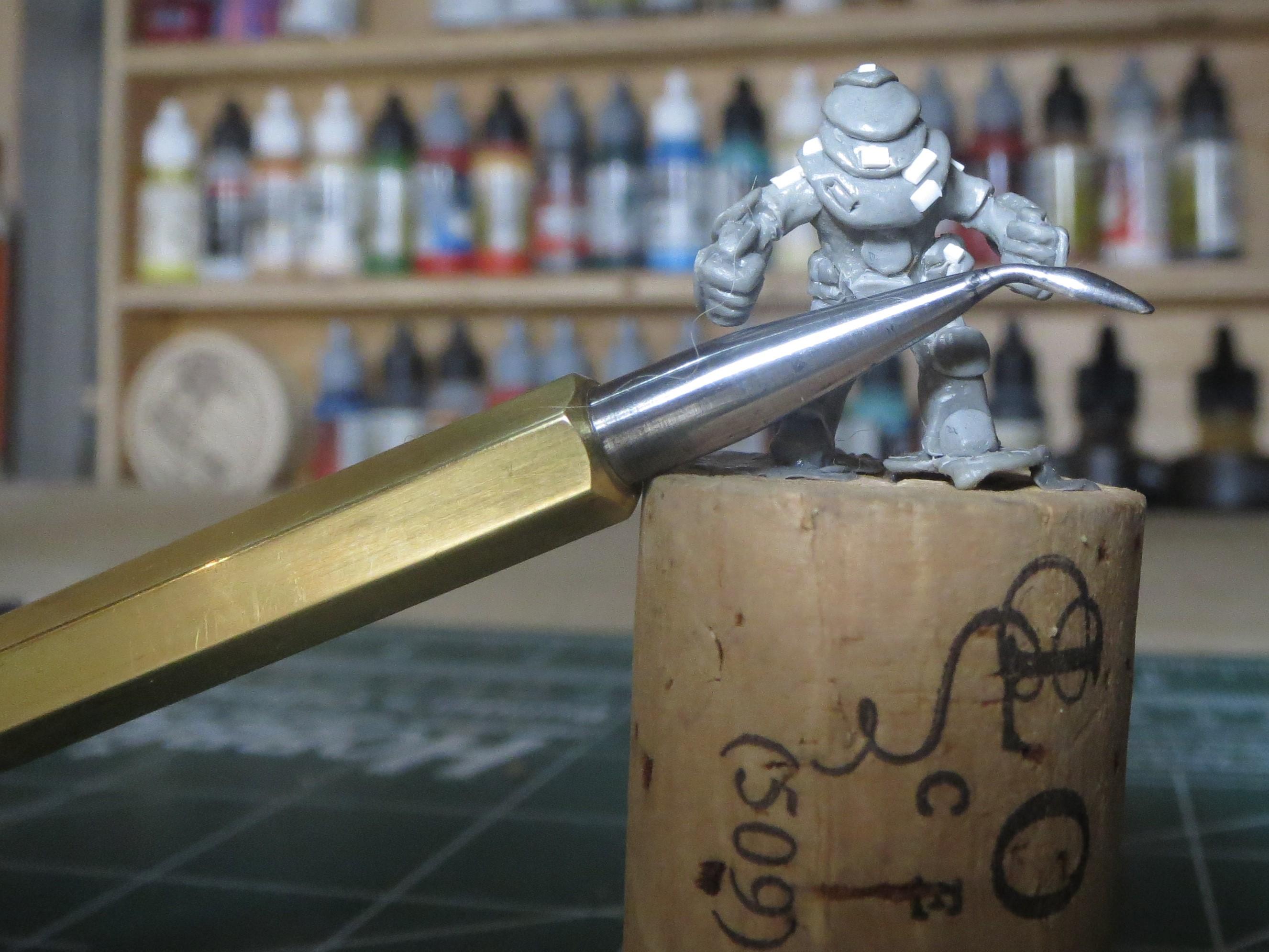 Picture of DIY Miniature Sculpting Tool