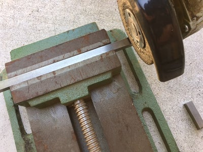 Cutting the SS to Length
