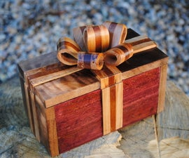 Easy Handmade Wooden Ribbon Box