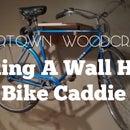 How To Make: A Wall Mounted Bike Caddie