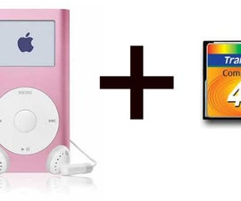 Upgrade Your iPod Mini With Flash Memory - No More Hard Drive!