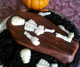 Spooky Coffin Cupcakes