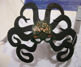 Octopus Masquerade Mask