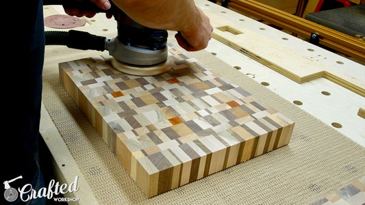 Sand End Grain Cutting Boards & Chamfer Edges