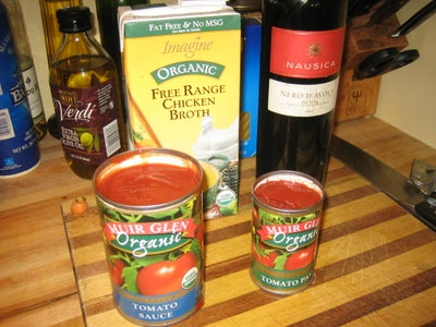 Add These Ingredients and Simmer.