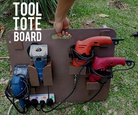 Portable Outdoor Workshop - Tool Tote Board