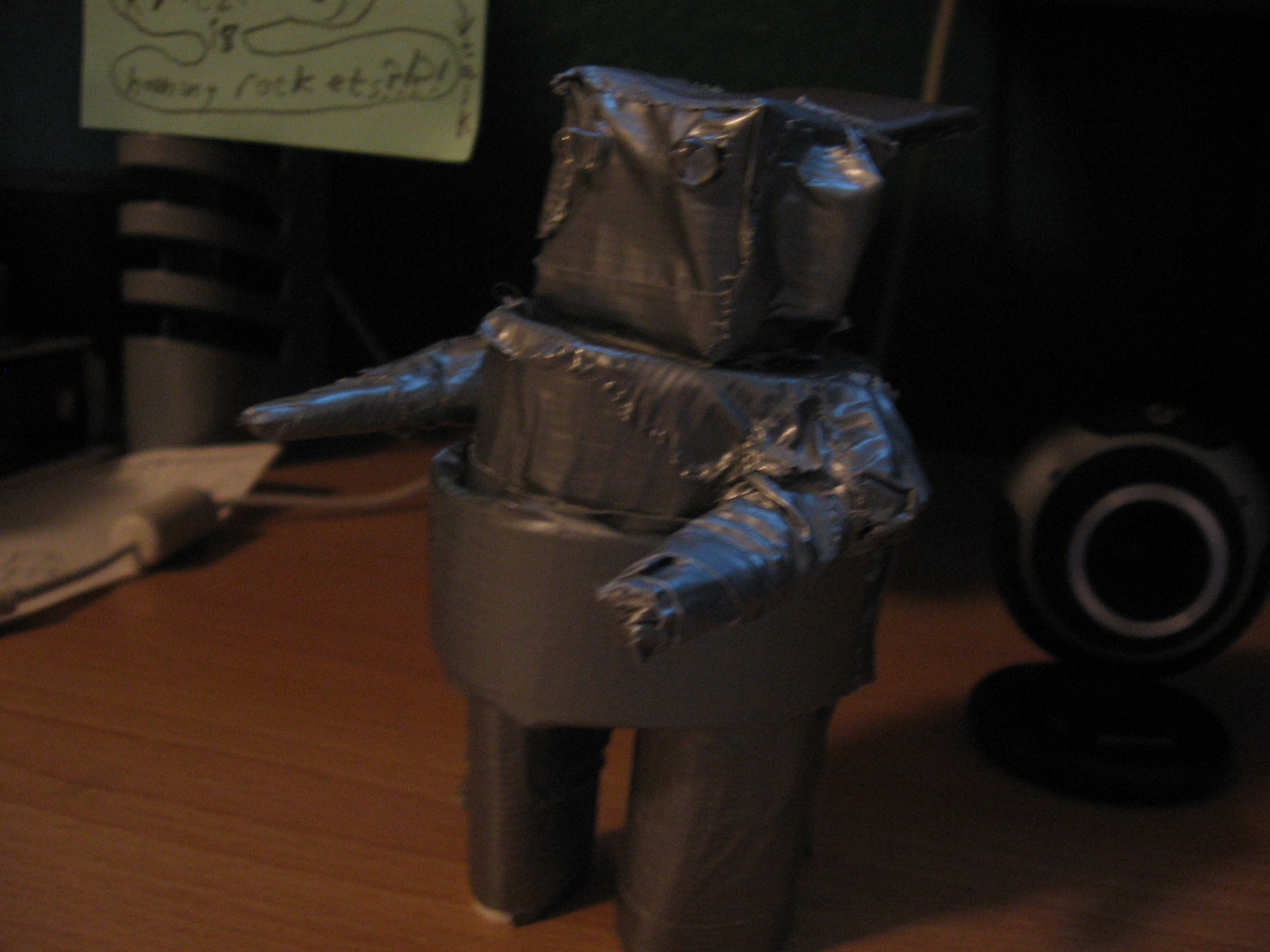 Picture of How to Make a Cheap, Mini Robot Out of Cardboard