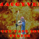MacGyver a Duct Tape Bowstring!