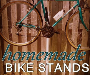 Homemade Bike Stands