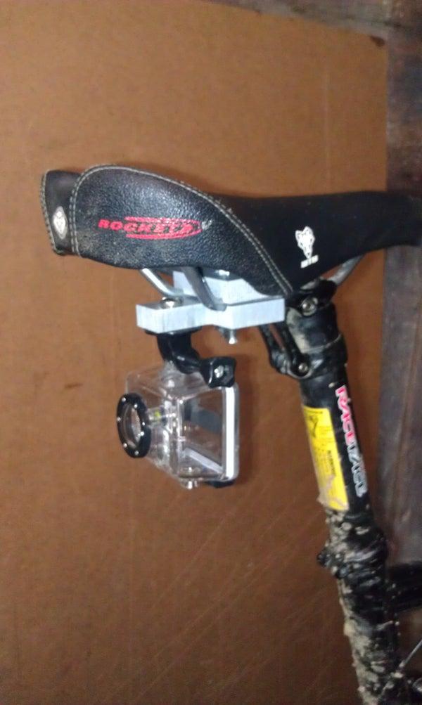 GoPro Camera Bicycle Under-seat Mount