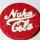 How to Make a Glowing Nuka Cola Coaster