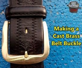 Making a Cast Brass Belt Buckle