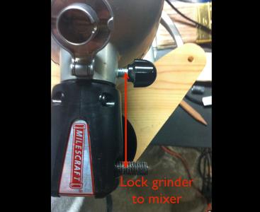 Attach Grinder to KitchenAid Mixer