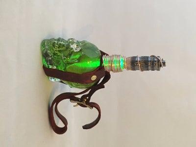 Glowing Steampunk Vial