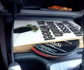 Hold CDs with a Book