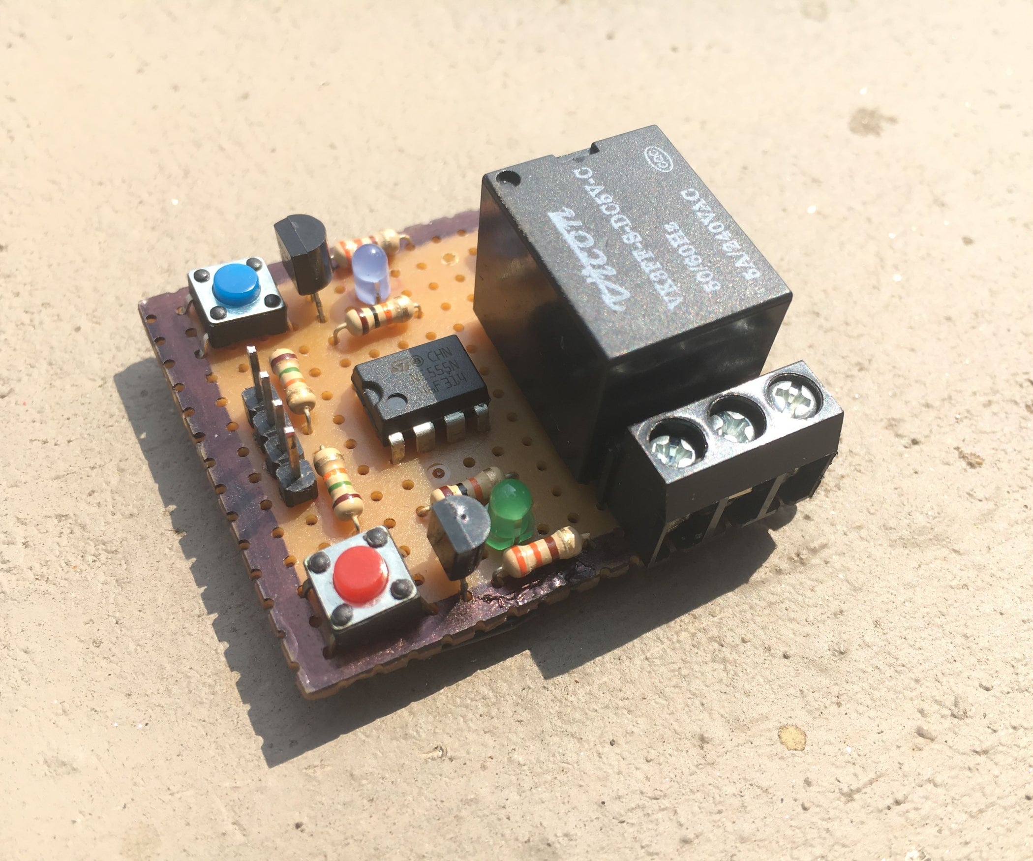 Latching Relay Module 9 Steps With Pictures Timer Control Circuit Diagram Moreover Using 555