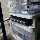 Laptop Shelf - Using Keter Alpha