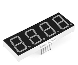 Using a 4 Digit, 7 Segment Display, With Arduino