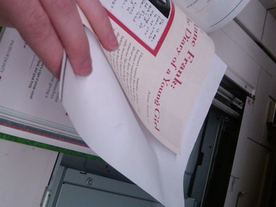 Insert Paper Between Pages