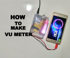 How to Make VU Meter