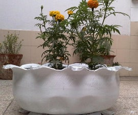 Creative Plant Pot with Car Tires