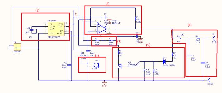 Conception Du Circuit En Entrée / Entrance Circuit Design
