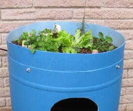 Make your own aquaponics tank.