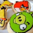 Angry Bird Cookies