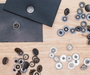 Leather Hardware: Snaps