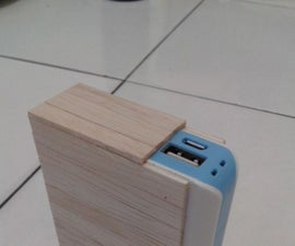 DIY Popsicle Power Bank With Extra Battery