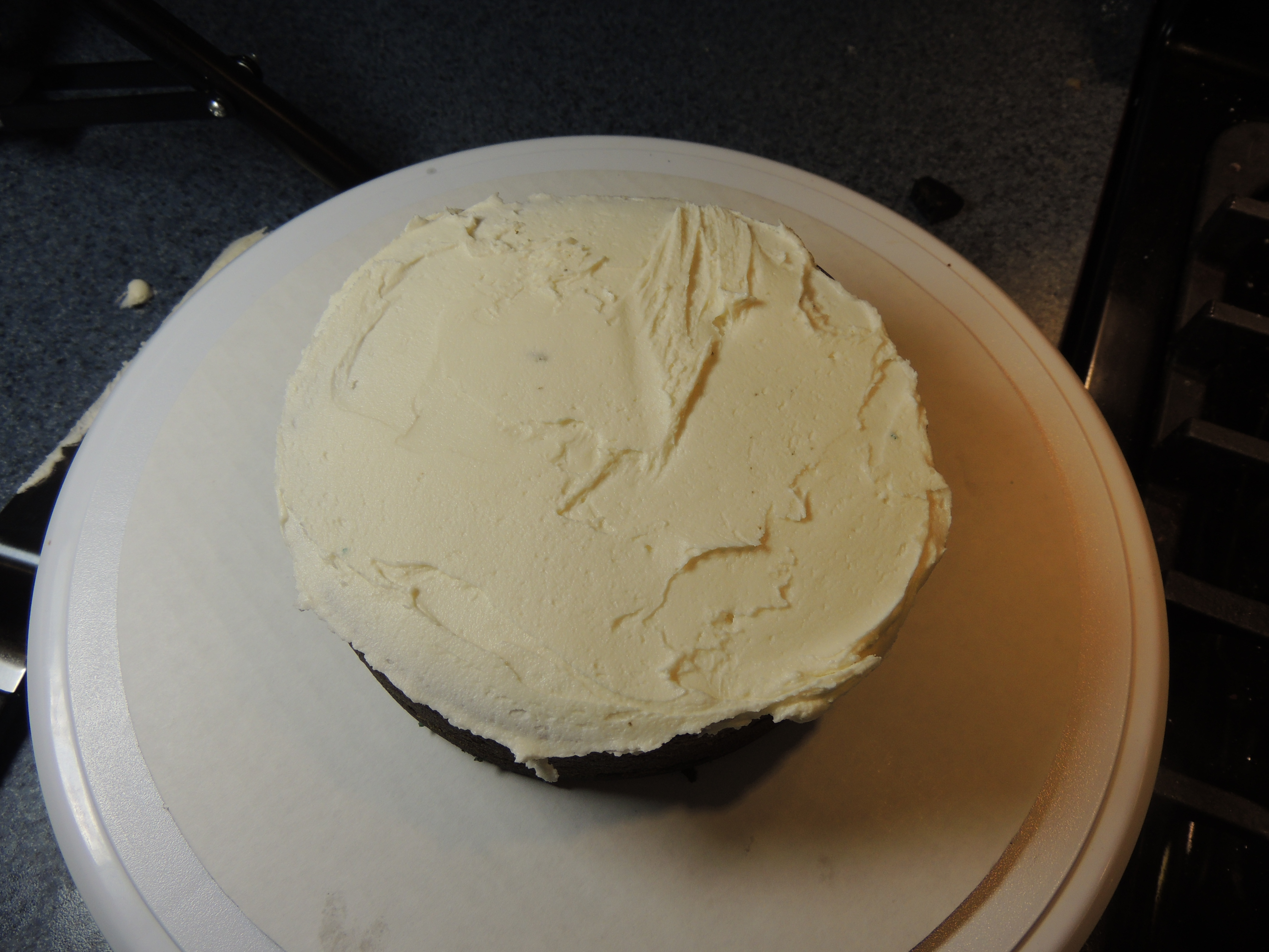 Picture of Cake Assembly Part 1