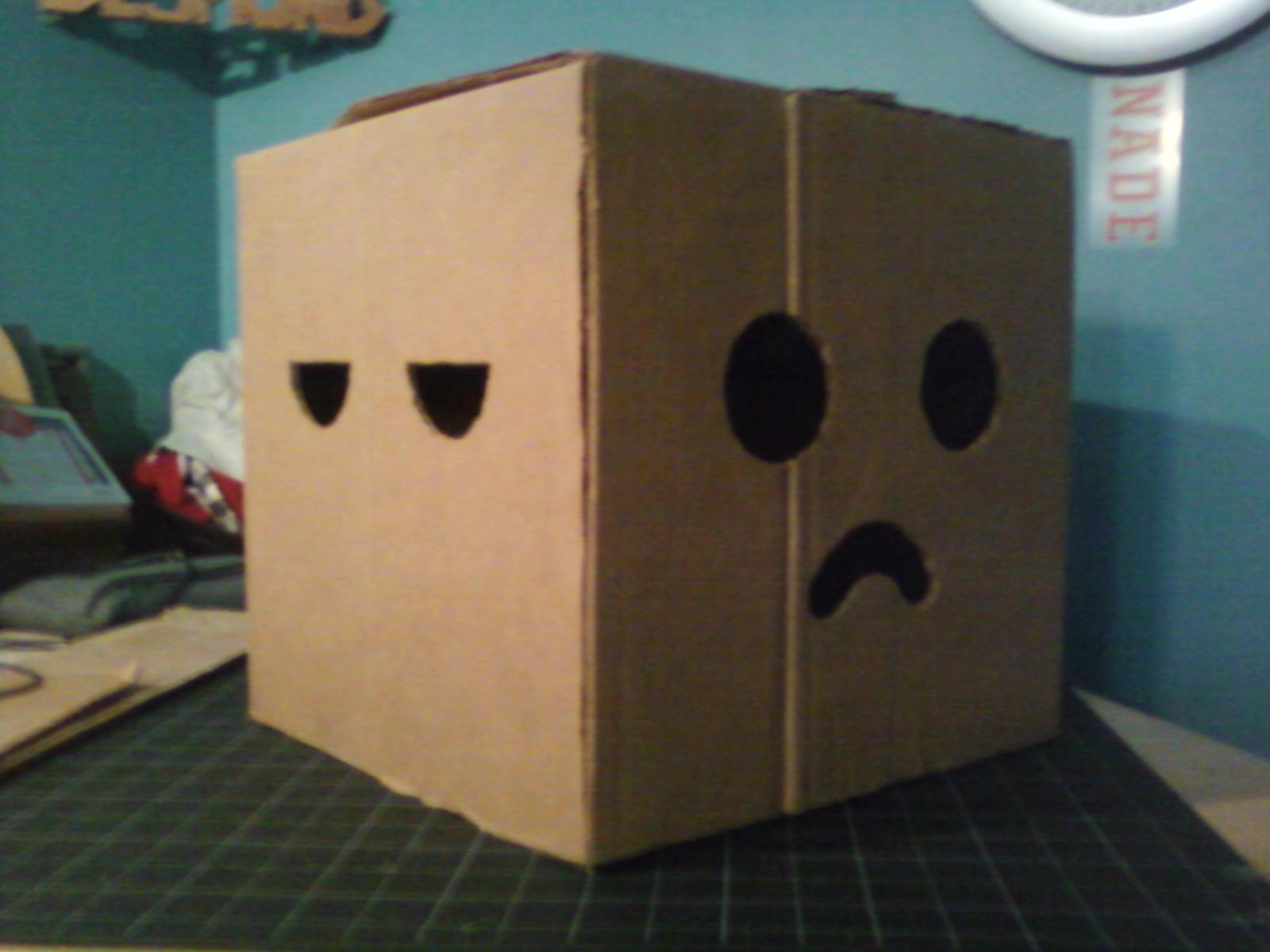 Picture of Multi-face Minecraft Head
