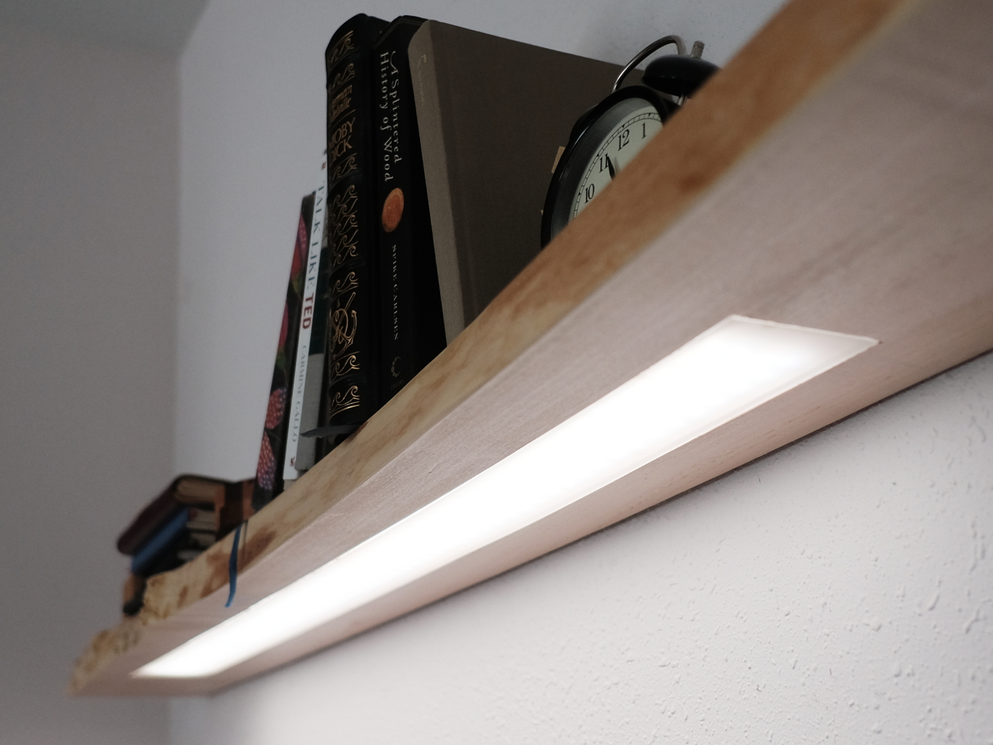 Picture of Floating Shelf W/ Hidden LED Lighting