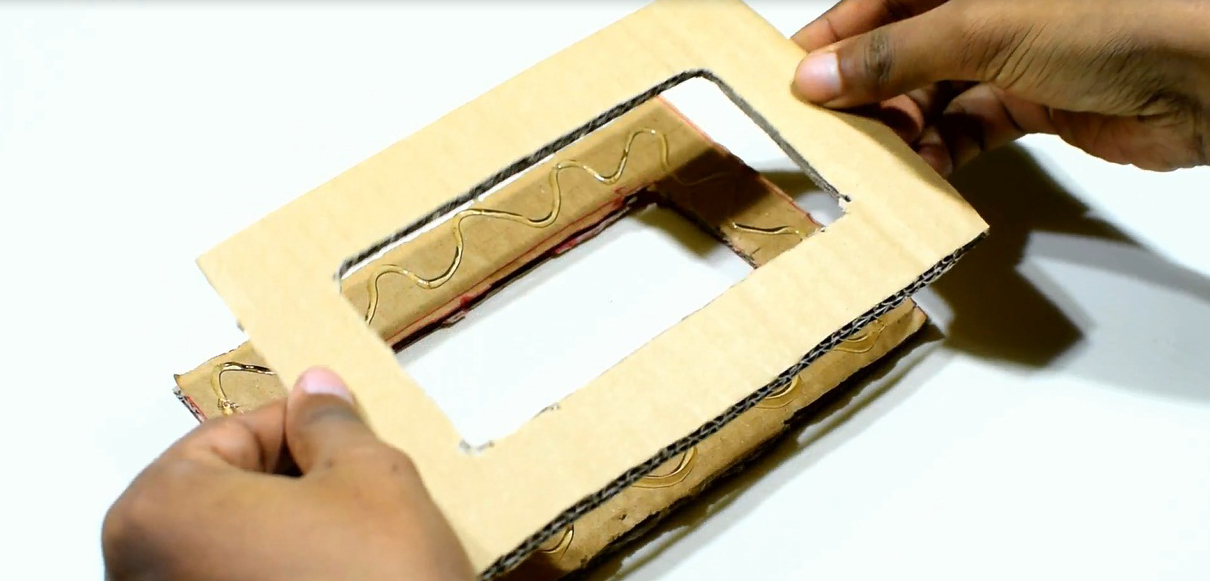 Picture of Add the Shape With Glue