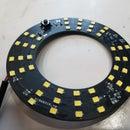 DIY LED Ring Light PCB for Microscopes!