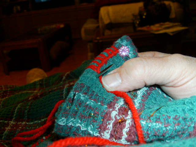 Picture of Making a Blanket Stitch