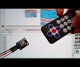 Arduino Nano and Visuino: Infrared Remote Control Receiver