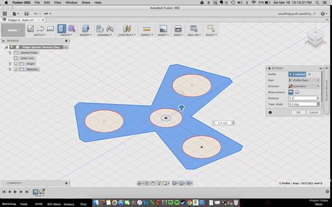 Extruding 3D Model