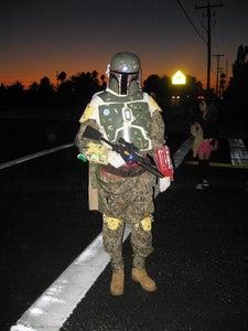 Starwars Boba Fett Blaster Halloween Costume