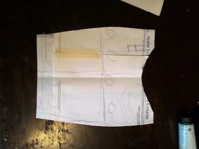 Patterning and Initial Sketches