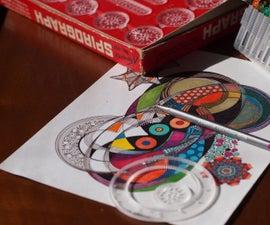 Spirograph Art Cards